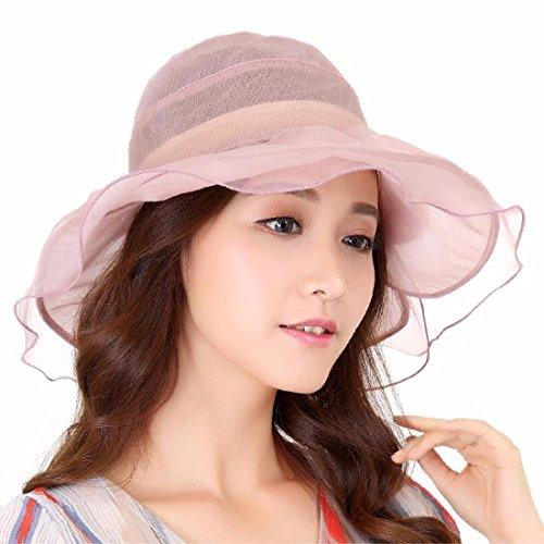 Sombreros El Fresco Visera Elegante Verano Chica Rosa Seda De Verano Nuevo Yangfeifei En Y mz Tapa Transpirable Sofisticada Con vRPw6qwg