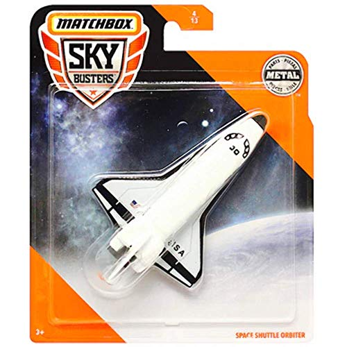 Matchbox Space Shuttle Orbiter Skybusters Diecast Plane 1:64 Scale