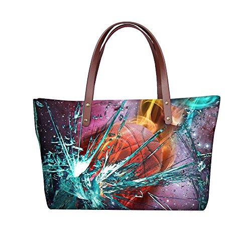 Casual Tote Women FancyPrint Handbags Dfgcc5103al Bages Large I5HqB