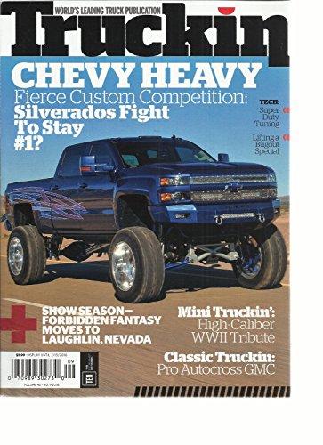 TRUCKIN MAGAZINE, ISSUE, 2016 VOLUME, 42 (WORLD 'S LEADING TRUCK -