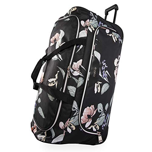 Thing need consider when find duffel bag large wheels for women?