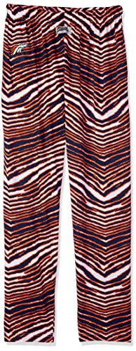 - Zubaz NFL Denver Broncos Men's Classic Zebra Printed Athletic Lounge Pants, Navy/Orange Large