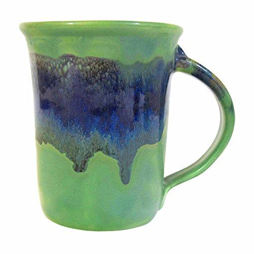 Clay in Motion Handmade Ceramic Small Mug 10oz – Misty Green
