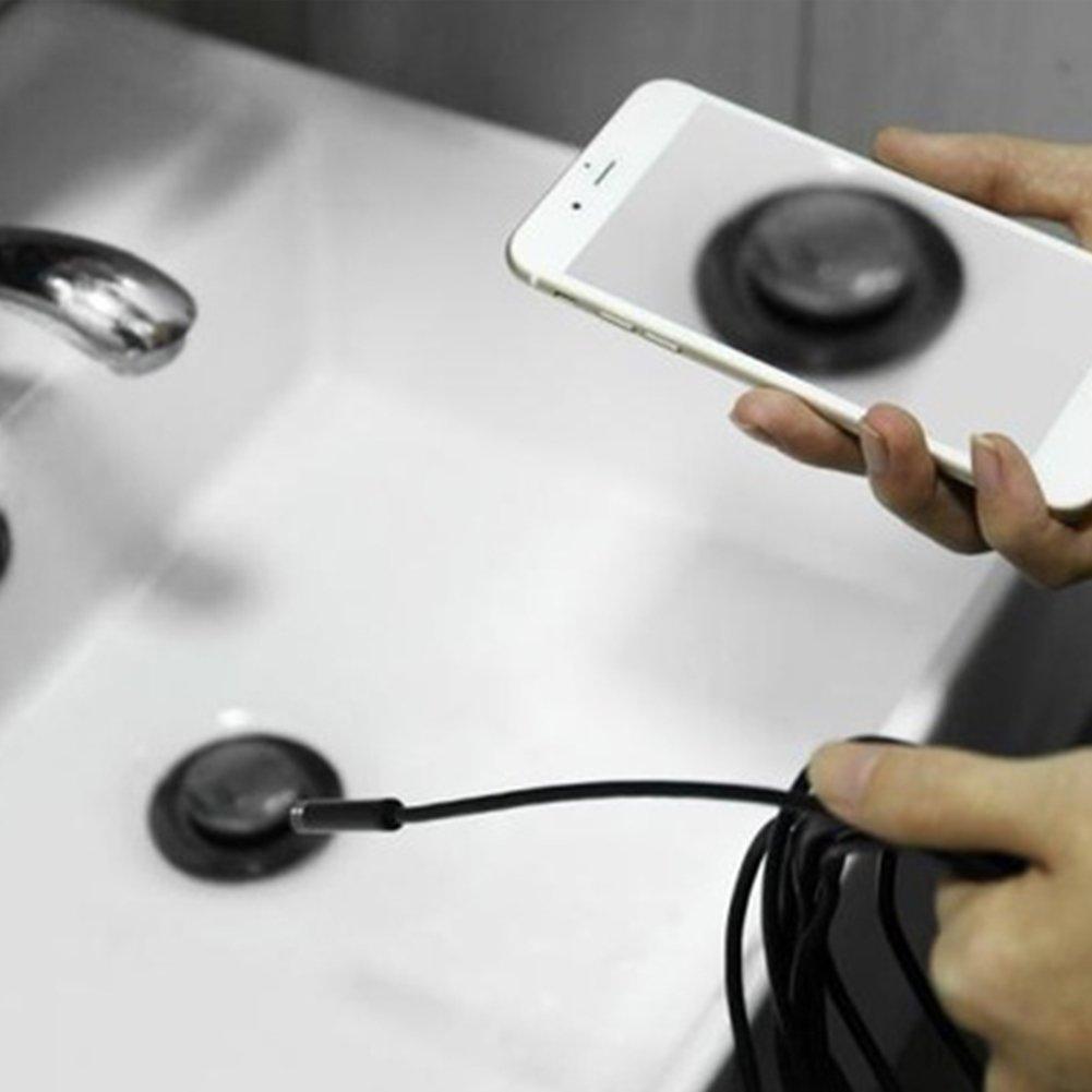 TAKEMORE7/endoscopio USB tipo C camera Periscopio IP67/impermeabile fotocamera serpente fotocamera con 8/LED regolabili per telefono android tablet device