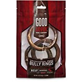 "Cheap Good Lovin"" Traditional Beef Bully Ring Dog Chew, Pack of 3, 3.2 OZ"