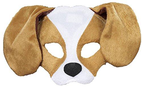 Kids Plush Puppy Dog Animal Mask (Dog Costumes For Kids)