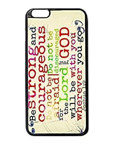 """Chapters and Verses of the Bible Custom Image Case iphone 6 -5.5 inches case , Diy Durable Hard Case Cover for iPhone 6 Plus (5.5"""") , High Quality Plastic Case By Argelis-Sky, Black Case New"""
