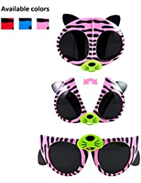 Sunglasses for Kids with Strap. Polarized Sunglasses with...