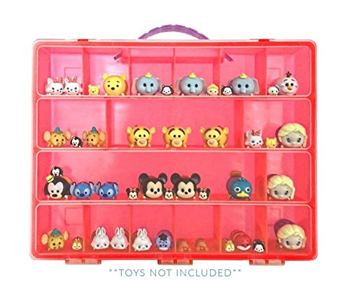 Life Made Better Tsum Tsum Mini Doll Red Case, Toy Storage C