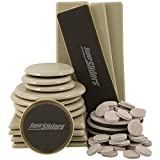 SuperSliders Surface Defender Furniture Moving Kit (52 Piece) for Carpeted and Hard floor surfaces