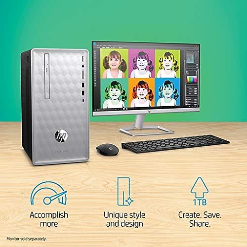 Amazon.com: HP 2019 Newest Premium Flagship Pavilion 590 Desktop 27 Inch 1080P Monitor (Intel 6-Core i5-8400 2.8GHz up to 4 GHz, 8GB/12GB/16GB RAM, ...