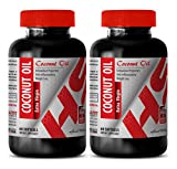 Product review for Improve blood flow - EXTRA VIRGIN COCONUT OIL - Weight loss supplement - 2 Bottles 120 Softgels