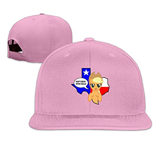 Unisex Don't Mess With Texas Adjustable Snapback Baseball Cap Pink One - Ford Tom Houston