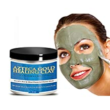 Bentonite Clay Simply The Best Healing Organic Mask. The Finest Azteca Gold Blended, Purest, Highest Quality Calcium Bentonite Clay You Can Buy!