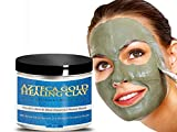 Bentonite Clay Mask Reviews Azteca Gold Bentonite Clay Powder, Simply Best Secret Indian Healing Organic Facial Mask Finest, Purest, Highest Quality Deep Skin Cleanse. (16oz)