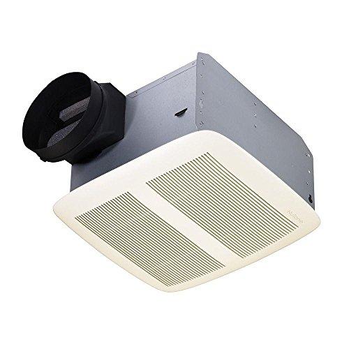 Nutone QTXEN150 Ultra Silent Series Fan Whtie Grille 150 CFM Energy (Ultra Silent Series)