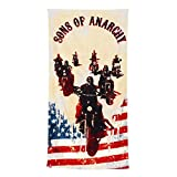 """Sons of Anarchy 59"""" * 29 1/2 """" Cotton Beach Towel"""