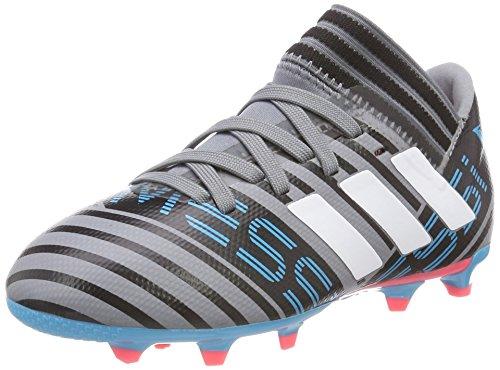 adidas Nemeziz Messi 17.3 FG Kids Soccer Boot Grey/Blue Cold