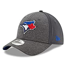 Toronto Blue Jays Shadowed Team 2 39THIRTY Stretch Fit Hat - Graphite