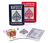 Maverick Standard Index Playing Cards, 1 CT (Colors May Vary)