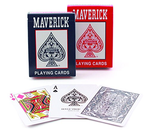 Bicycle Standard Index Maverick Playing Cards
