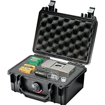 Pelican 1120 Case With Foam (Black)