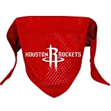 Hunter MFG Houston Rockets Mesh Dog Bandana, Large