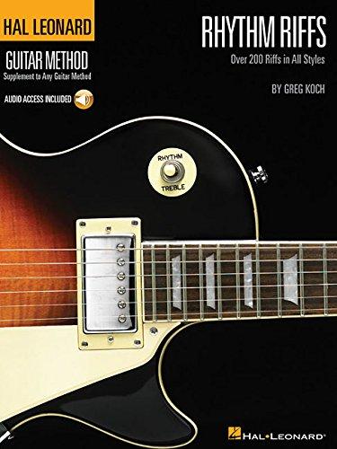 Rhythm Riffs: Over 200 Riffs in All Styles Hal Leonard Guitar Method (Hal Leonard Guitar Method (Songbooks)) PDF