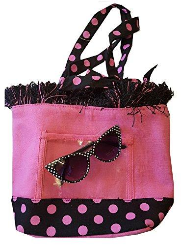 DangerousFX - Cinta para el pelo - para mujer Pink Bag + Black Glasses