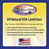 Shadow River Lamb Ear Chews for Dogs - Premium