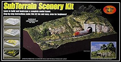 Woodland Scenics SubTerrain Scenery Kit