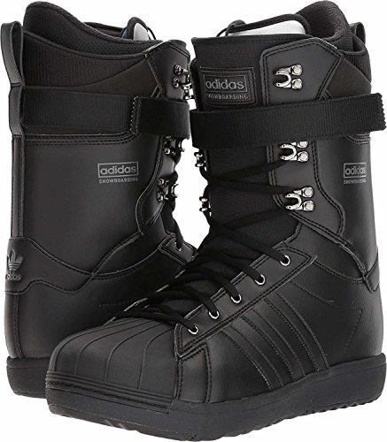 adidas Skateboarding  Men's Superstar ADV Core Black/Core Black/Core Black 10 D US