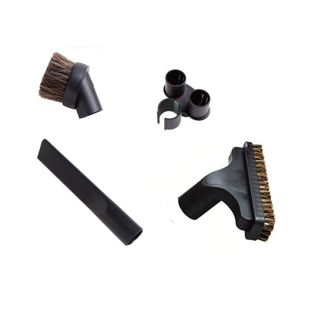 EZ SPARES 4PCS Universal Replacement 32mm Vacuum Cleaner Accessories Horsehair Brush Kit For Hoover, Eureka, Royal, Dirt Devil,Kirby, Rainbow Kenmore,Electrolux, Panasonic, Shop Vac