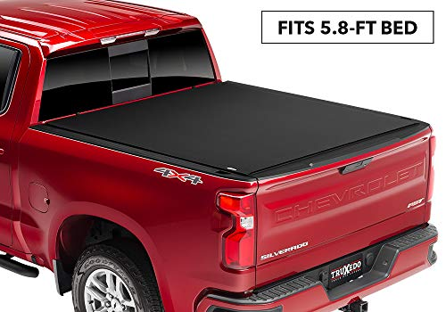 TruXedo Pro X15 Soft Roll-up Truck Bed Tonneau Cover | 1472401 | fits 2019 GMC Sierra 1500 & Chevrolet Silverado 1500 New Body Style 5