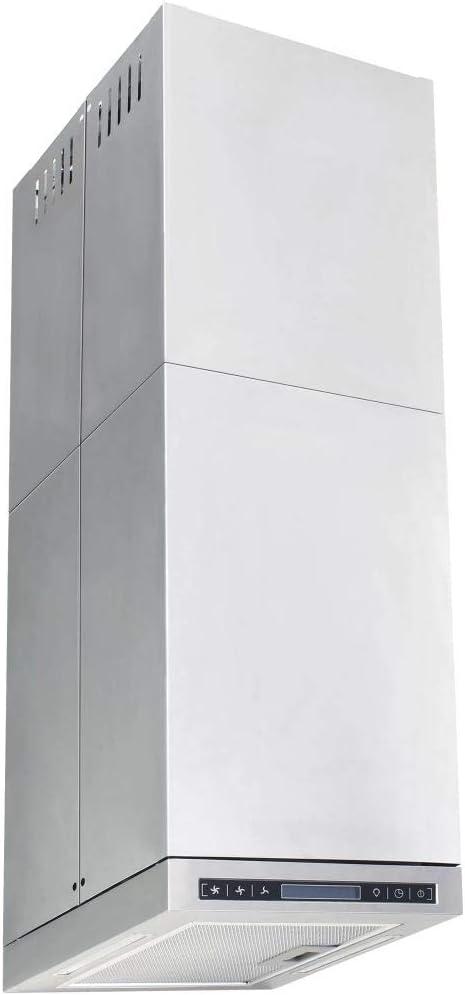 vidaXL Campana Extractora de Techo Pantalla Sensor Táctil 756m³/h LED Cocina