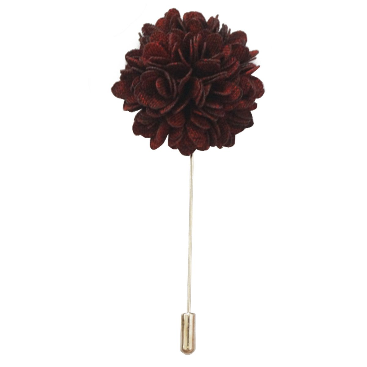 Sunny Home Lapel Flower Handmade Tuxedo Corsage Boutonniere Pin for Suit (Sky Blue)