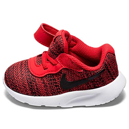 University Toddlers NIKE White TDV Running Shoe Tanjun Red Black FqdCdwX