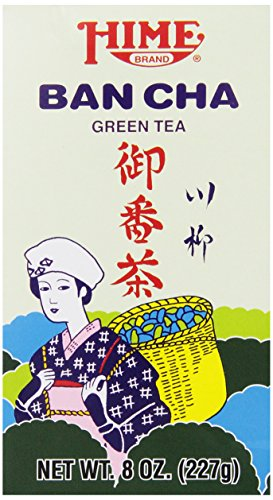 Hime Ban Cha Green Tea, 8-Ounce Boxes (Pack of 4) (Bancha Tea Green)