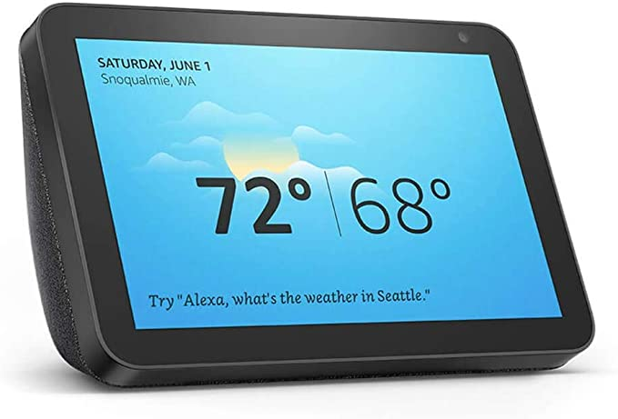 Amazon.com: Echo Show 8 -- HD smart display with Alexa – stay connected with video calling - Charcoal: Amazon Devices