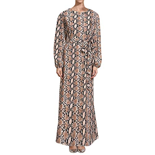 ✔ Hypothesis_X ☎ Womens Muslim Dresses, Retro Print for sale  Delivered anywhere in USA