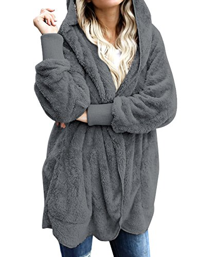 Hooded Fleece Coat - 6