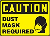 Accuform DUST MASK REQUIRED (W/GRAPHIC) (MPPE460VA)