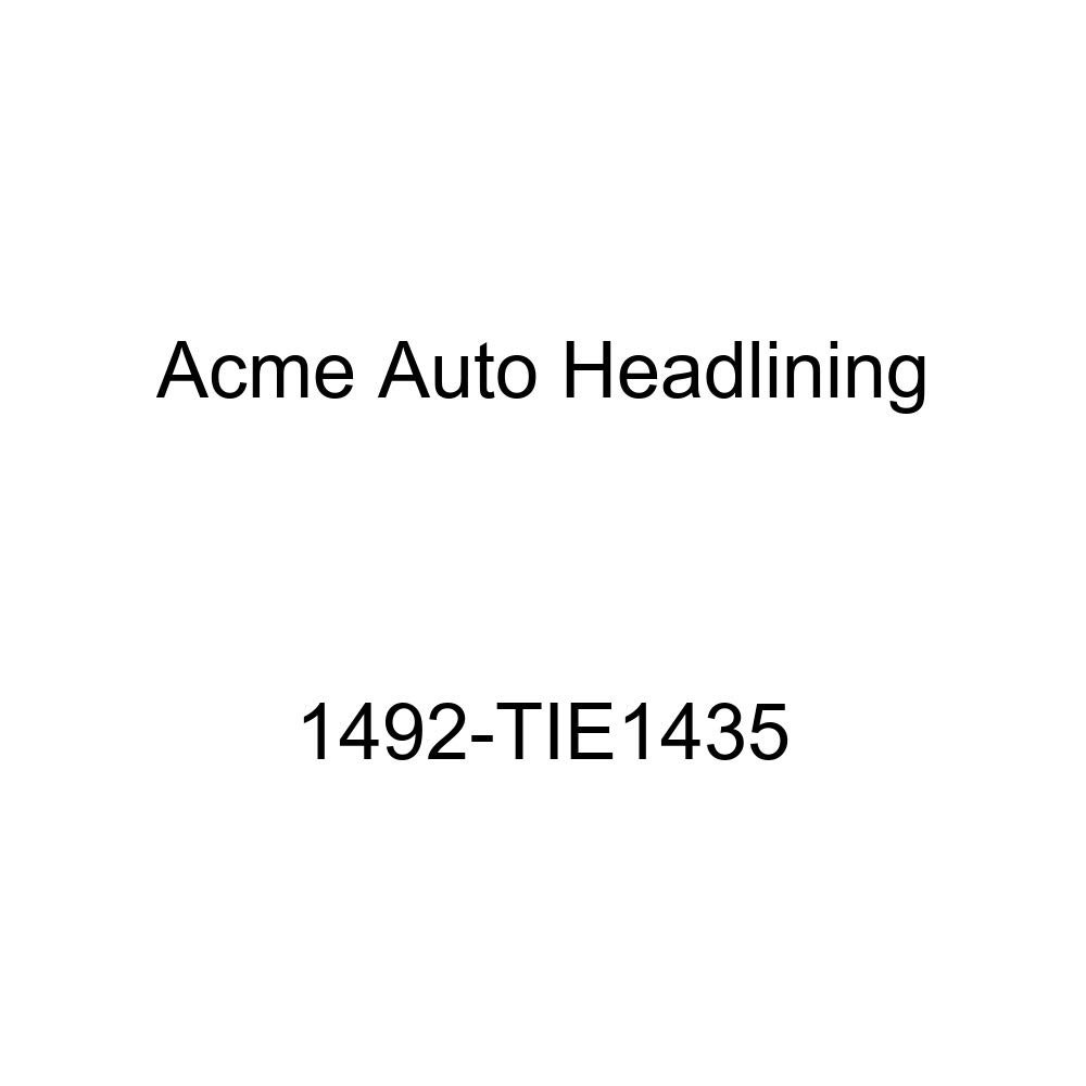 1960 Chevrolet Corvair 2 Door Club Coupe 5 Bow Acme Auto Headlining 1492-TIE1435 Tan Replacement Headliner