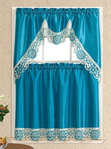 bright kitchen curtains - 6