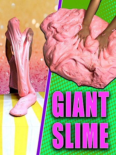Clip: Giant Fluffy Slime (Slime Recipe With Contact Solution And Glue)