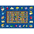 Fun Time Reading Time Rectangle Kids Rug