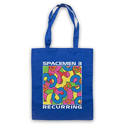 Spacemen 3® Recurring Official Bolso Azur Real