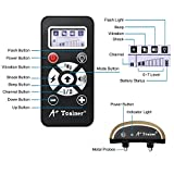NEW 2018 MODEL 800 Yards Range Remote Dog Training Collar, Rechargeable and IPX6 Waterproof Dog Shock Collar with Beep, Vibration and Shock, Electric Dog Collar for Puppy, Small, Medium and Large Dogs
