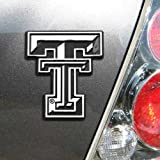 car emblem texas - NCAA Texas Tech Red Raiders Premium Metal Auto Emblem