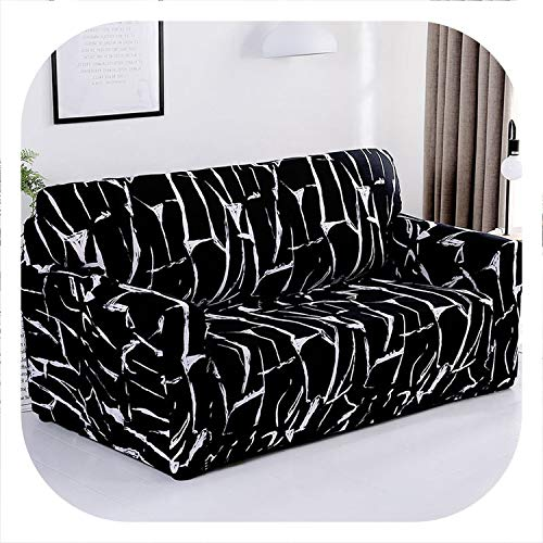 New face Sofa-slipcover Tight Wrap All-Inclusive Slip-Resistant Sectional Elastic Full Corner Sofa Cover l Shaped Sofa 1/2/3/4 Seater 1PC,Color 13,4seater 235-300cm